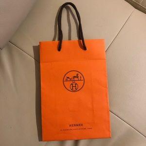 Authentic Hermes Paper Bag